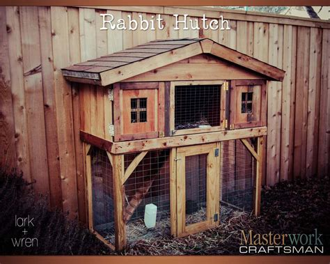 How To Make Your Own Rabbit Hutch by Diy Tutorials