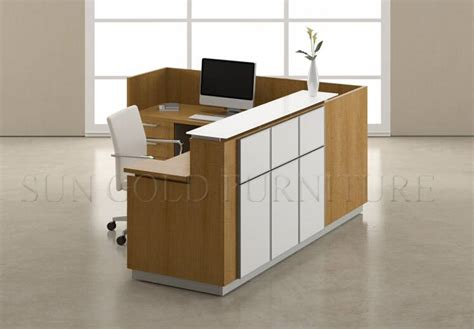 front desk reception furniture new design stylish salon office small reception desk front