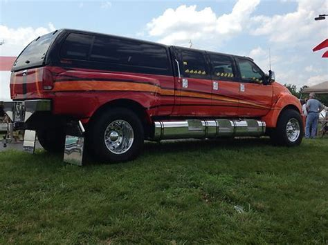 ford f650 6 door purchase used 2006 ford f650 6 door cat powered custom