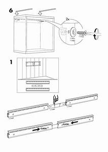 Ikea Best U00c3 Suspension Rail 23 5  8 U0026quot  Assembly Instruction