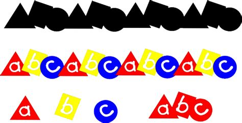 abc cliparts border   clip art