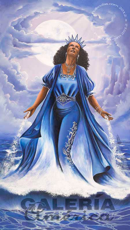 Yemaya Mother Of The Ocean On Pinterest Orisha