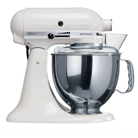 malaxeur de cuisine kitchenaid artisan stand mixer ksm150 white
