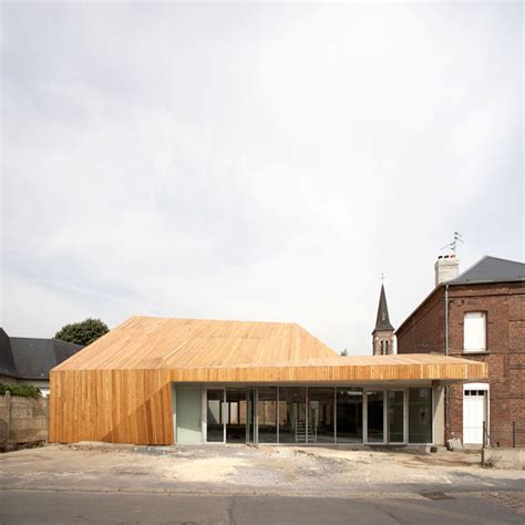 Proville Mediatheque  Tank Architectes Archdaily