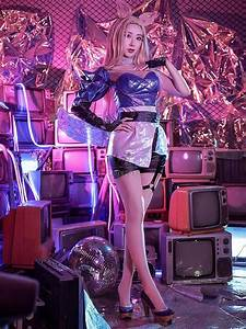 Buy Lol Kda All Out Ahri Cosplay Costume For Sale