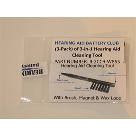 3-in-1 Hearing Aid Cleaning Tool Kit - Walmart.com ...