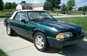 Deep Emerald Green 1990 Ford Mustang 25th Anniversary 7-UP Convertible - MustangAttitude.com ...