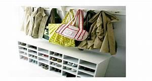 Astuce Pour Sol Glissant : astuce d co brico pour organiser le rangement des chaussures ~ Premium-room.com Idées de Décoration