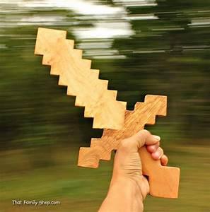 Minecraft Sword Wooden Toy Sword Computer/Video Game ...