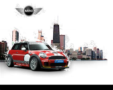 Stylish Mini Car Wallpaper