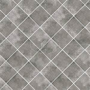 Checkerboard cement floor tile texture seamless 13418