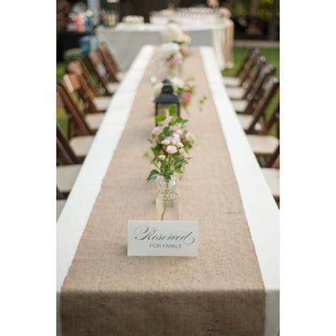 burlap table runner    premier table linens