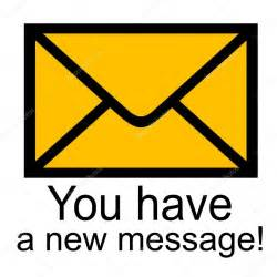 you a new message stock photo tmiobg 1747772
