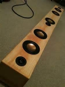 anyone make a diy soundbar pro audio home audio