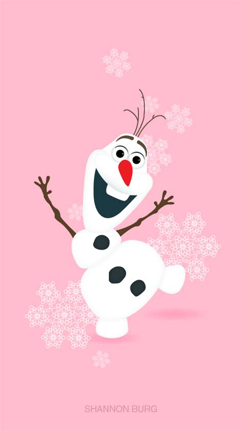 Olaf Iphone Wallpaper by Iphone Wall Olaf Tjn Iphone Walls Characters