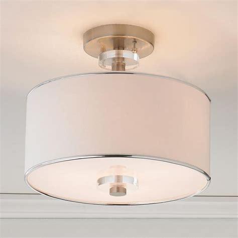 modern sleek semi flush ceiling light