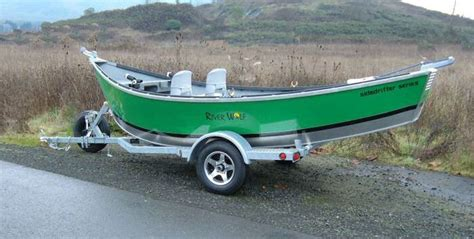 Green River Flat Bottom Boat by 16 Guide Model River Wolf Aluminum Boats Inc