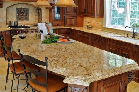 granite topped kitchen island brown granite top galley kitchen with arched