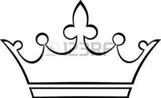 basic outlines the gallery for gt simple princess tiara outline