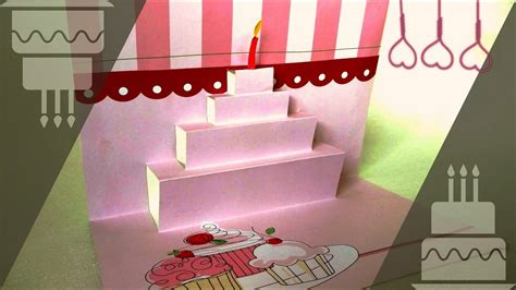 popup card  birthday  minutes craft  birthday