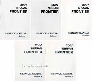 2004 nissan frontier factory service manual complete 5 With nissan electronic service manuals repair manual cars repair manuals