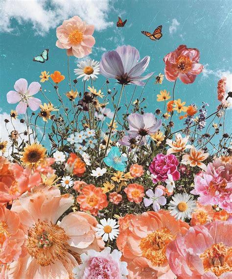 gambar bunga aesthetic