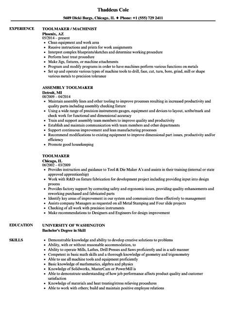 Resume Tools by Toolmaker Resume Sles Velvet