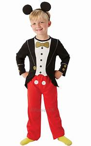 Mickey Mouse Tuxedo Ages 3 4 Boys Disney Character Fancy ...