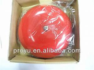High Quality Outdoor Manual Dc24v Conventional Fire Alarm Bell Py-jl188-6