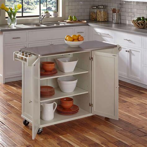 Liberty Kitchen Cart w/ SS Top   Homestyles