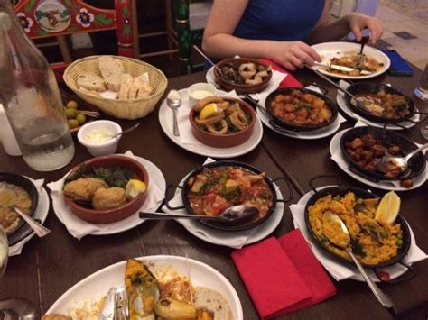 馗ole cuisine more than enough food for 3 picture of ole ole tapas