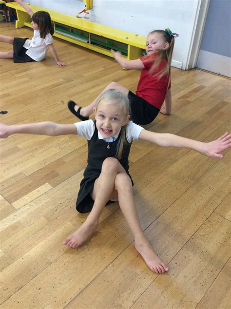 willow class practise  gym skills kemsley primary