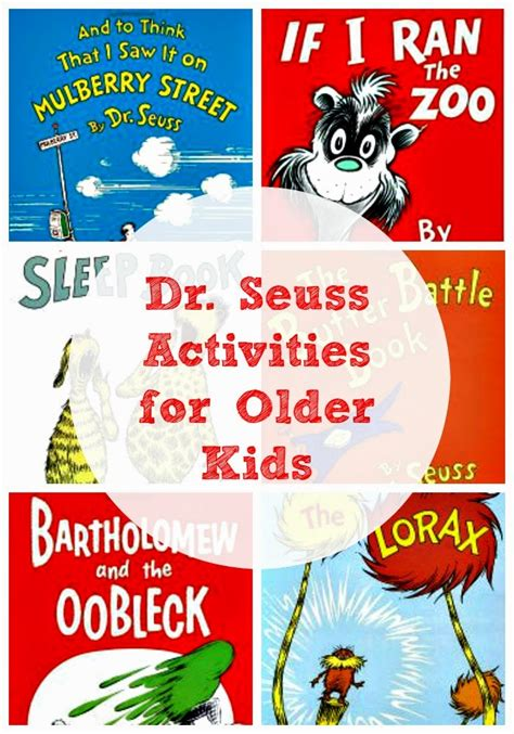 Dr Seuss For Older Children  Planet Smarty Pants