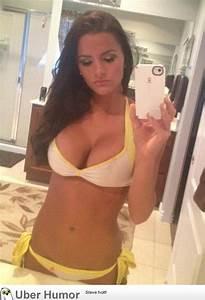 hot girl bikini selfie