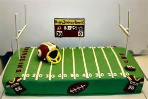 NFL Football Birthday Cakes
