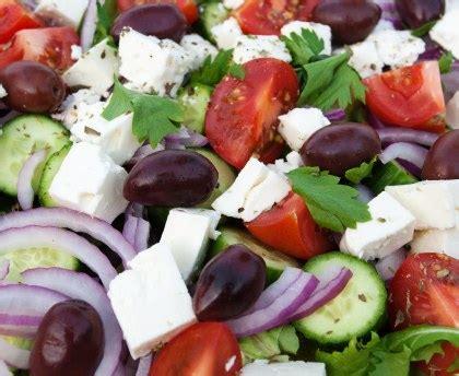 la cuisine grecque salade grecque recette de salade grecque marmiton