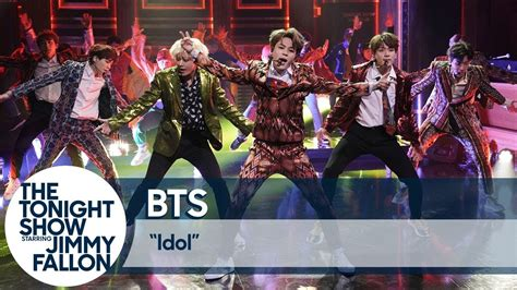 Bts Perform 'idol' And 'i'm Fine' To Screaming Fans