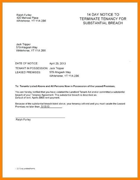 termination  tenancy agreement template dereptilesinfo