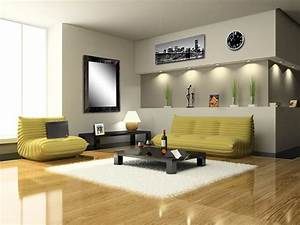 decoration salon interieur exemples d39amenagements With decoration d interieur salon