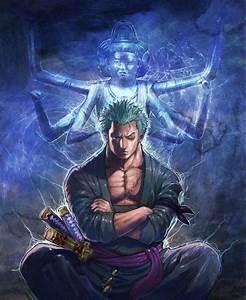 Roronoa Zoro - Ashura - One Piece   anime y manga ...