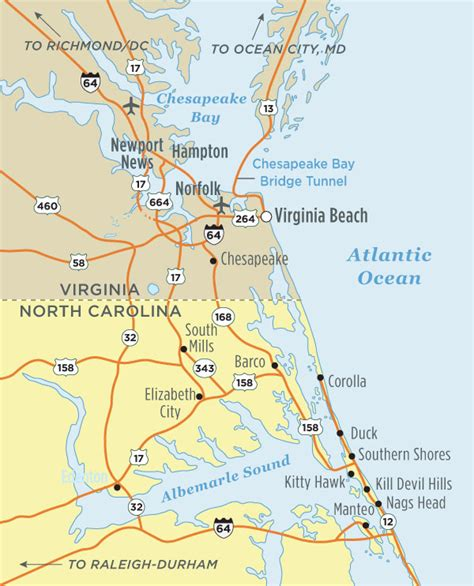 Driving Directions | Visit Outer Banks | OBX Vacation Guide
