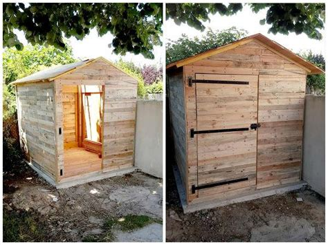 shed style house plans make your own pallet shed or cabin