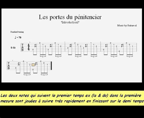 articles de tablature tagg 233 s quot les portes du p 233 nitencier quot tablature guitare skyrock
