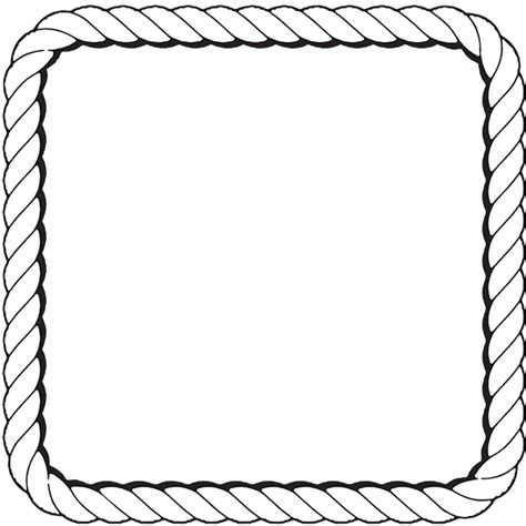 Rope Border Clipart Nautical Rope Border Clipart Best