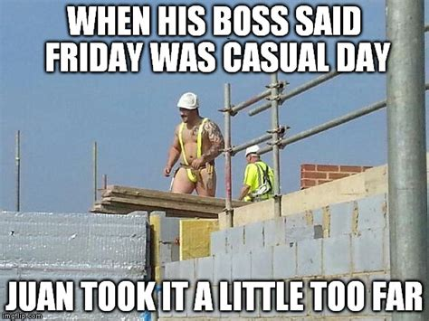 Construction Memes - construction special safety gear imgflip