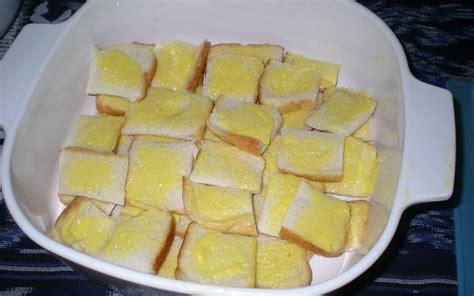 murah meriah resep puding roti tawar santan kukus resep