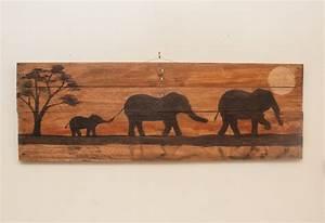 Elephant painting elephant decor elephant art nursery wall art for Elephant wall art