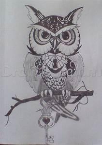 Owl tattoo, Step by Step, Tattoos, Pop Culture, FREE ...