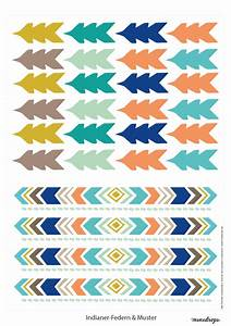 Indianerparty Printables