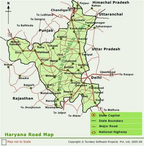 haryana road mapmap haryana road indiamap  haryana